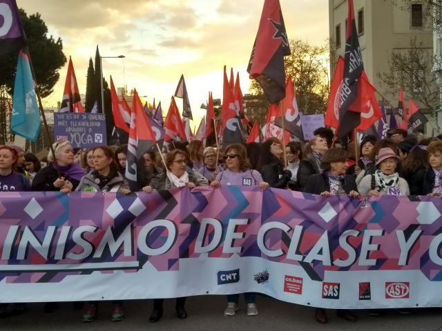 MANIFESTACION FEMINISTA DE 8 DE MARZO 2019